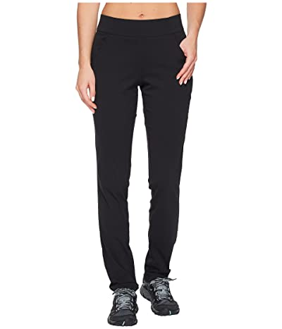 Columbia Anytime Casual Pull-On Pants (Black) Women