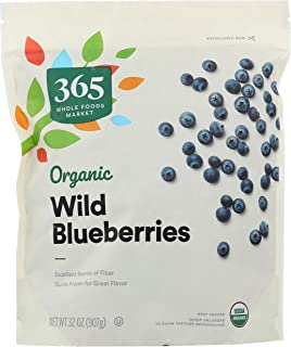 365 by Whole Foods Market, Frozen Organic Wild Blueberries, 32 Ounce