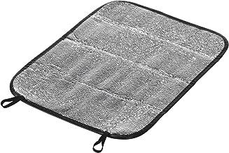 iShin/é Aluminium Silicate Aiguille Couverture en Fibre de c/éramique Couverture Isolante Haute temp/érature chaudi/ère Isolation Coton r/éfractaire Isolation Coton Ignifuge