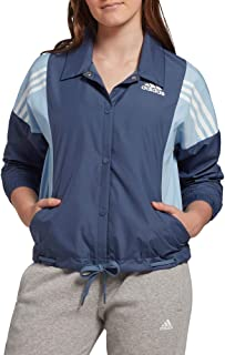 adidas Women's 3-Stripes Athletic Lightweight Jacket