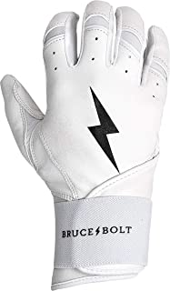 BRUCE+BOLT Premium Long Cuff Batting Gloves
