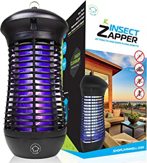 Livin' Well Bug Zapper – 4000V High Powered Electric Mosquito Killer and Insect..