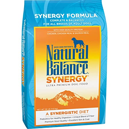 Natural Balance Synergy/Gentle Balance Ultra Premium Dry Dog Food with Prebiotics (Packaging May Vary)