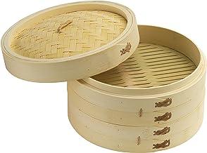 Joyce Chen Bamboo Steamer Set, 10-inch
