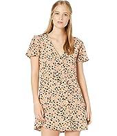 Pebble Button-Up Dress