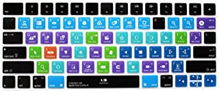 HRH Final Cut Pro X Functional Shortcut Hotkey Keyboard Cover Silicone Skin for Apple Magic Keyboard (MLA22LL/A) with US L...