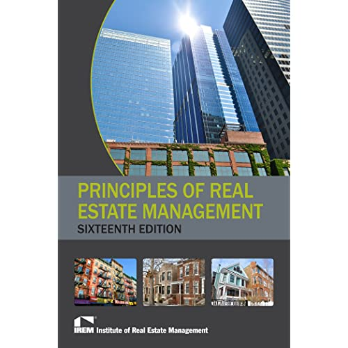 Principles of Real Estate Management, 16th Edition