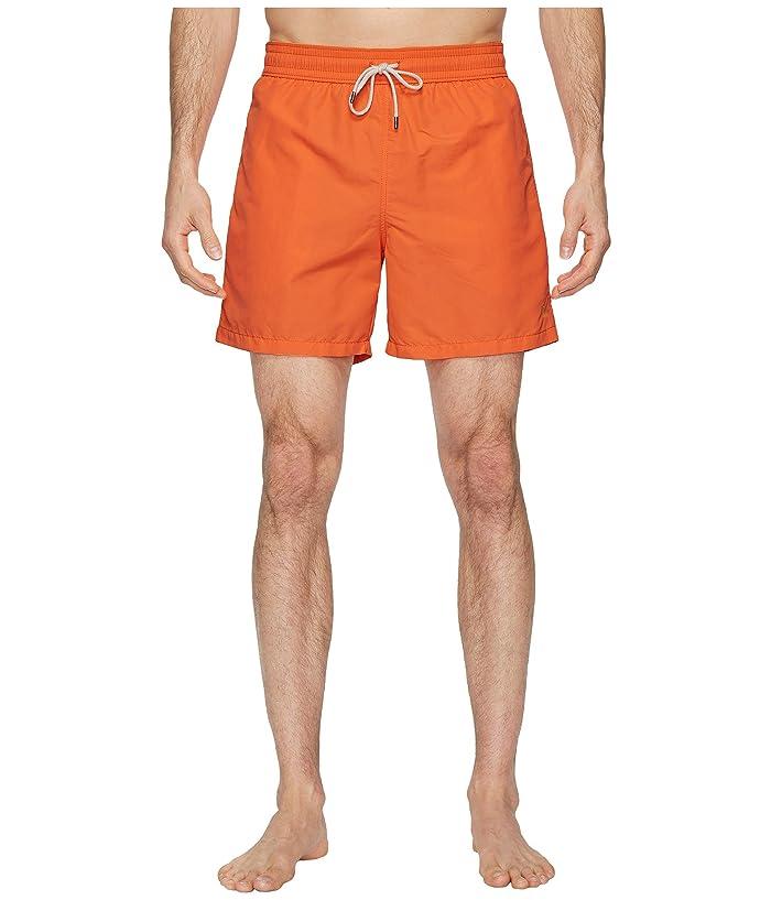 Polo Ralph Lauren Nylon Traveler Swim Shorts (Electric Melon) Men