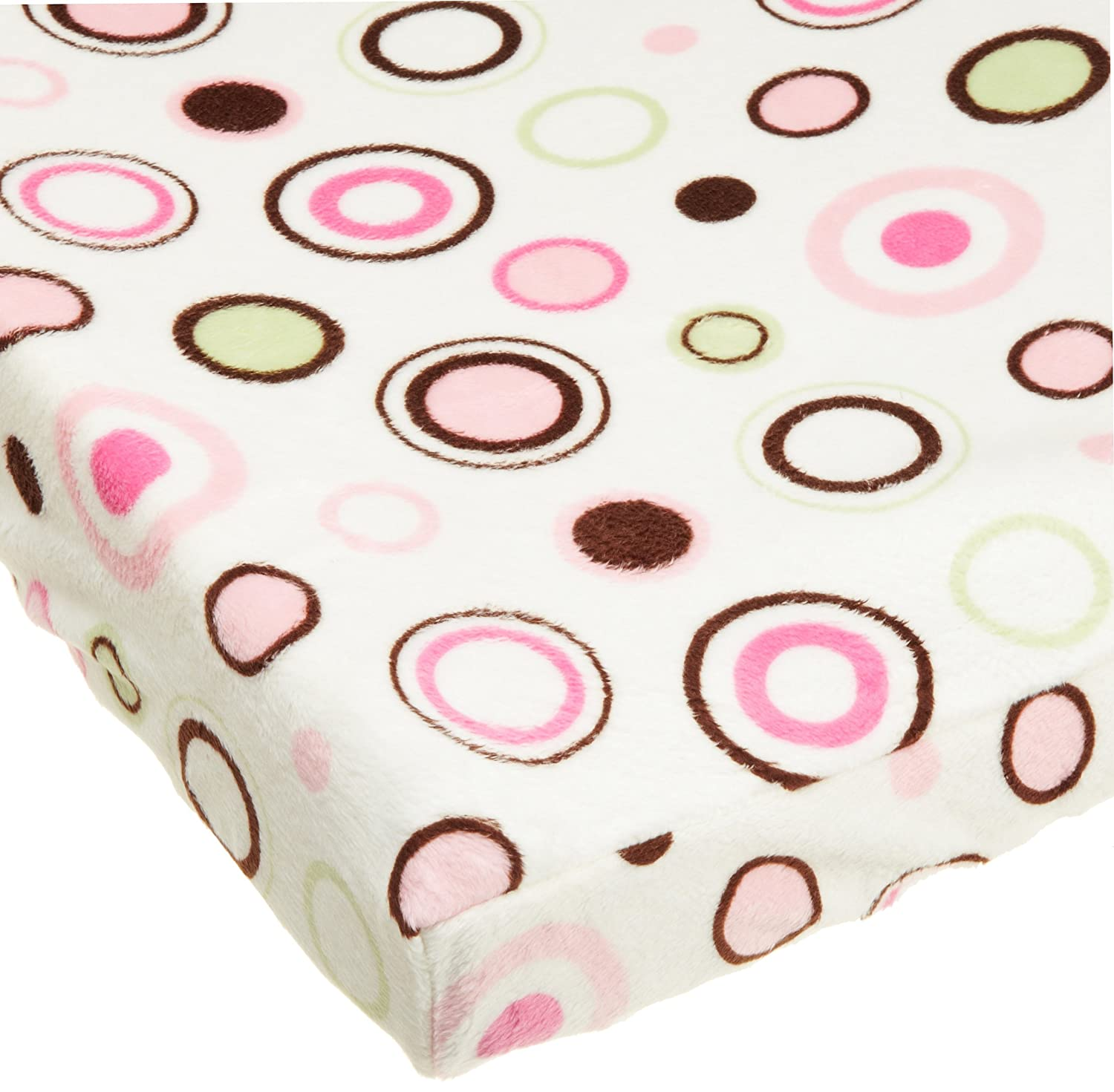 Spring new work one after another Carters Super Ranking TOP8 Soft Printed Changing Cover Circles Pink Dis Pad