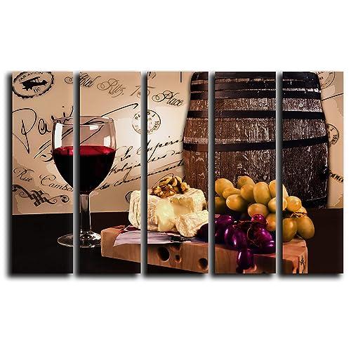 Winery Kitchen Decor Amazon Com