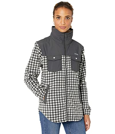 Columbia Benton Springstm Overlay Fleece (Chalk Houndstooth) Women