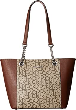 Calvin Klein - Monogram East/West Tote