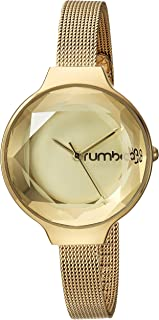 RumbaTime Women's 'Orchard Gem Mesh' Quartz Metal and Stainless Steel Casual Watch