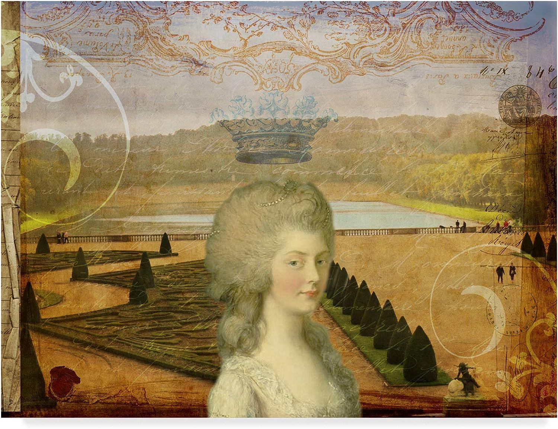 Trademark Fine Art Femme Paris XIII by Sandy Lloyd, 14x19