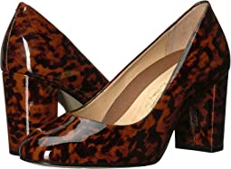 Leopard Patent Leather