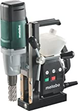 Metabo 600635500 600635500-Taladro magnético mag 32 1000W, Negro, Verde, Gris