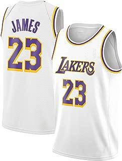 CCM Men'sLos Angeles Lakers -Lebron James Gold Personality Fashion Jersey