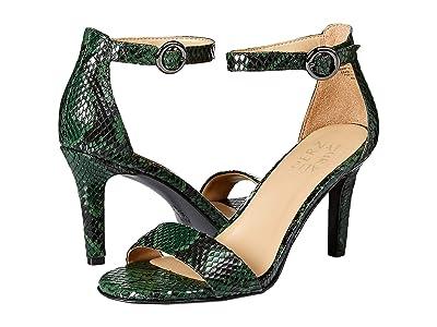 Naturalizer Kinsley (Forest Green Snake Print Leather) High Heels