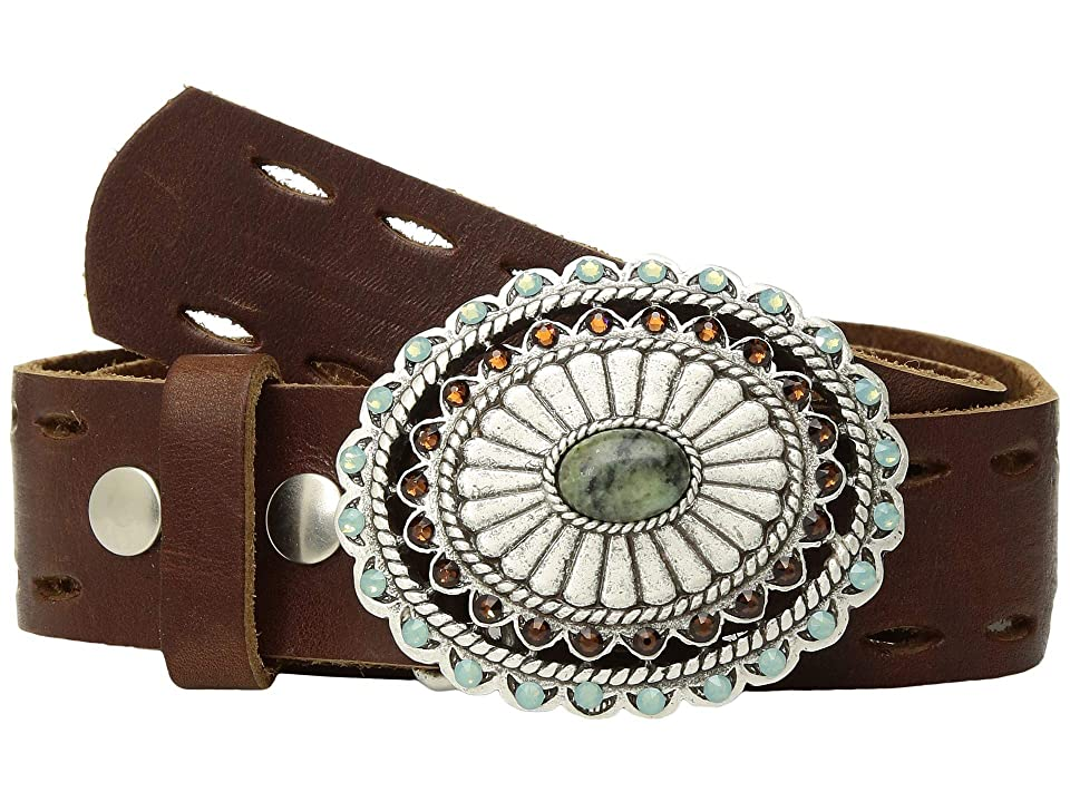 Leatherock Adele Belt (Brown) Women