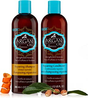 Hask Argan Oil shampoo & conditioner set, Combo