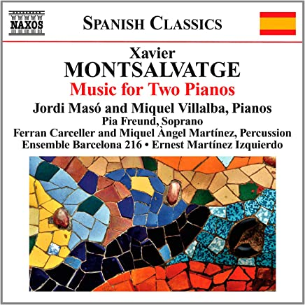 Montsalvatge: Piano Music for Two Pianos
