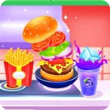 Cool recipe to follow Cooking and cleaning activities to perform A delicious burger to assemble Hide and seek challenges for the shopping list Lovely soundtrack and even nicer graphics