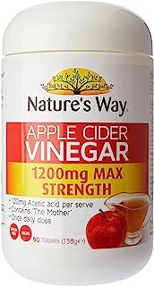 Nature's Way Apple Cider Vinegar, 1200mg, 0.17 Kilograms