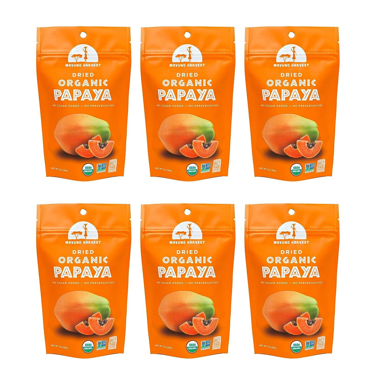 Mavuno Sales Long-awaited Harvest Direct Trade Organic Fruit Count Dried Papaya 6