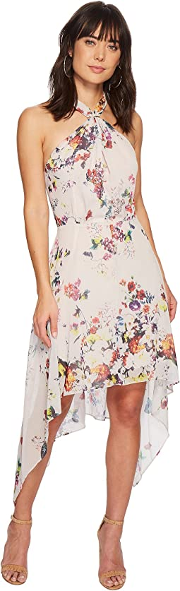 Bishop + Young Ana Floral Halter Dress