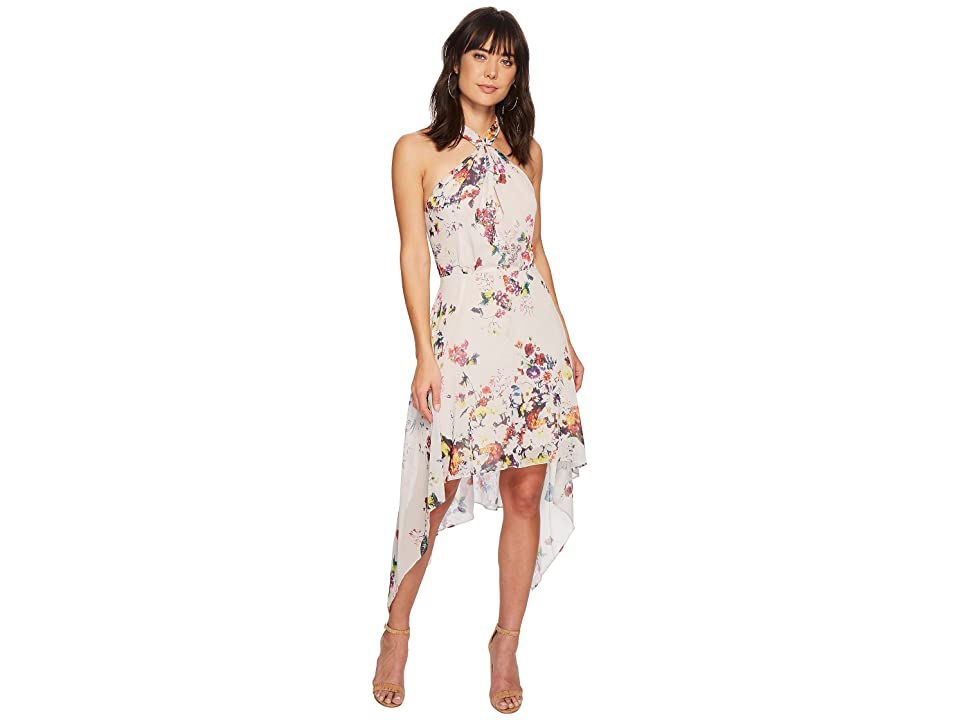 Bishop + Young Ana Floral Halter Dress (Romance Print) Women