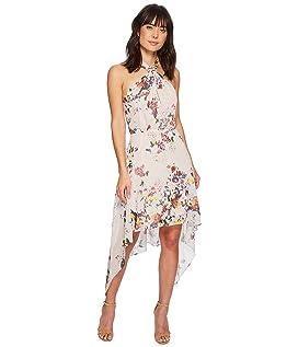 Ana Floral Halter Dress