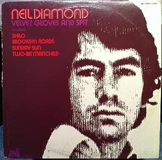 NEIL DIAMOND VELVET GLOVES & SPIT vinyl record