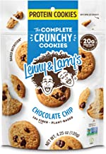 Lenny & Larry's The Complete Crunchy Cookies, Chocolate Chip, 4.25 oz (Pack of 6)