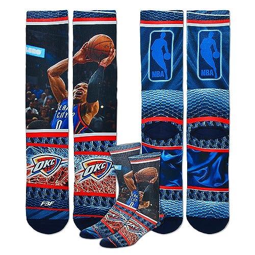 1d50684ecd4 Oklahoma City Thunder Youth Size NBA Hardplay Kids Socks (4-8 YRS) 1