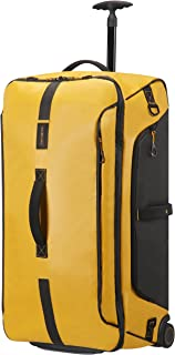 Paradiver Light Duffle with wheels 79/29, 79 cm, 121,5 L, Yellow