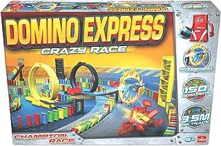 Dominó Express- Crazy Race, Multicolor (Goliath 81008) ,