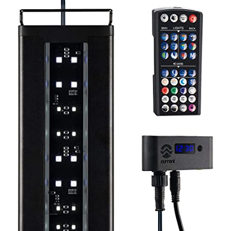 Current USA Satellite Freshwater LED Plus Full Spectrum RGB+W Light for Aquariums 72'' with Wireless 24 Hour Remote Control