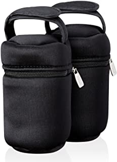 Tommee Tippee Insulated Bottle Bag and Bottle Cooler – Keeps Cold or Warm Bottles..