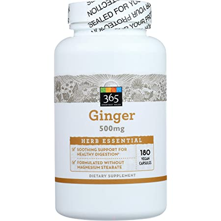 365 Everyday Value, Ginger 500Mg, 180 ct