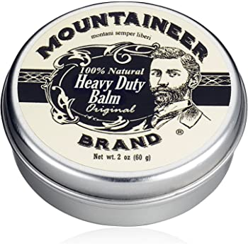 Heavy-Duty Beard Balm by Mountaineer Brand (2 oz) | Beard Tamer and Leave-in Conditioner | Original Scent