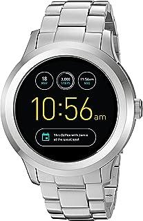 Fossil FTW2116 Q Founder Stainless Steel Gen 2 Touchscreen Smartwatch (Silver)
