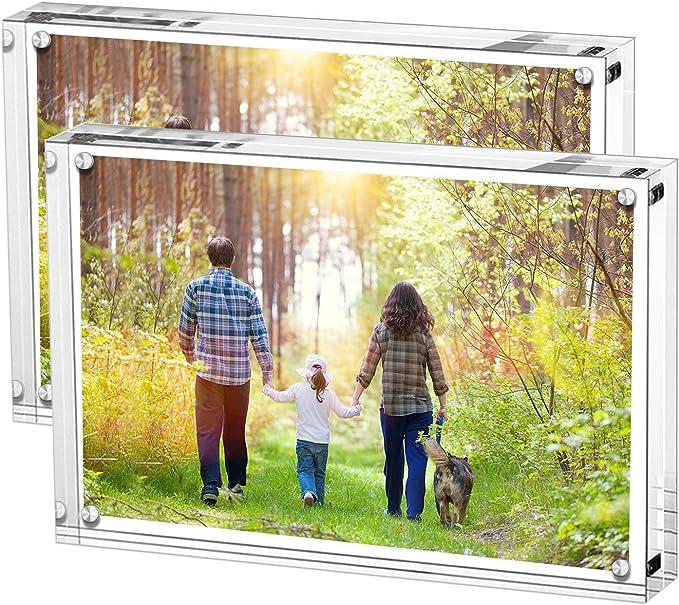 4028 opinioni per Boxalls Cornici Foto Acriliche, Mascagni Cornice 10x15CM Plexiglass Chiusura