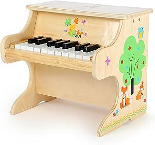Small Foot 10724 Piano Petit Renard, en Bois, Instrument pour Enfants pour Les Premiers Pas dans Le Monde de la Musique