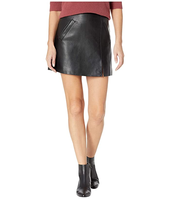 e20707f774 Blank NYC Vegan Leather Mini Skirt in Latch On at Zappos.com