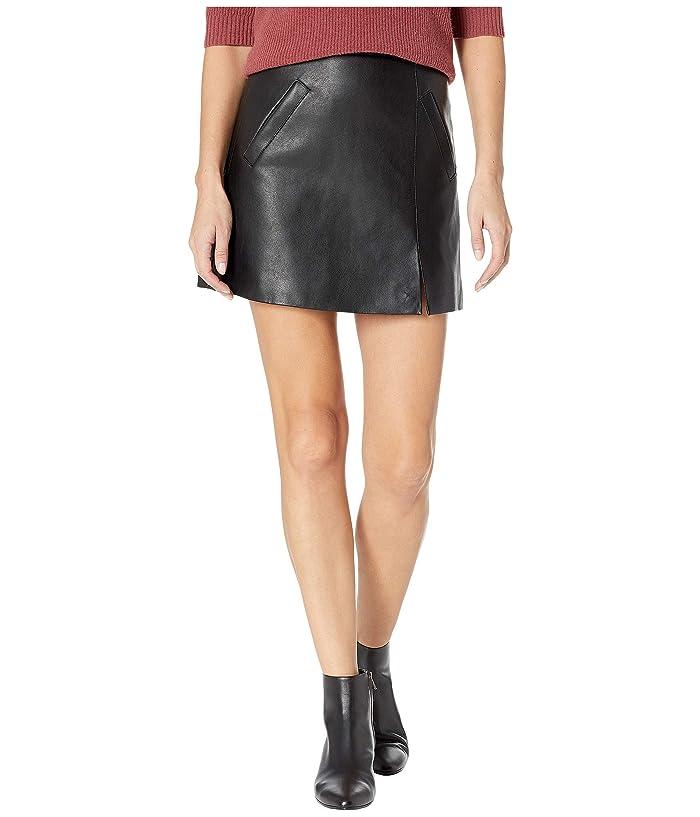 Blank NYC Vegan Leather Mini Skirt in Latch On (Latch On) Women