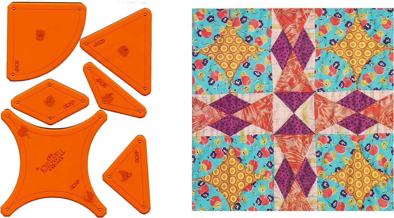 Jen Kingwell Tempters Max 85% OFF Series Acrylic Set Trust Hopscotch Template 12 -