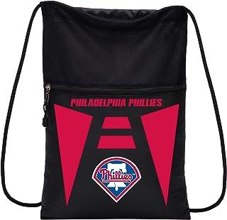 "MLB Philadelphia Phillies ""Teamtech"" Backsack""Teamtech"" Backsack, Black, 20 x 15"