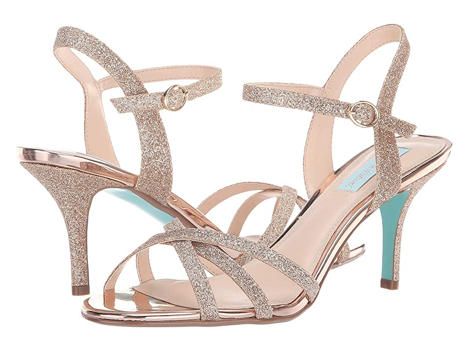 Blue by Betsey Johnson Tyler (Champagne Glitter) High Heels
