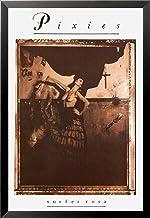 Buyartforless FRAMED Pixies - Surfer Rosa 1988 Album 36x24 Music Band Art Print Poster, brown, sepia, black
