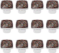 Glazen kast Dressoir Knoppen Trek Handvat Lade Knoppen Hardwarefor Keuken Badkamer Kasten Kast met Schroeven (12st) Schedel